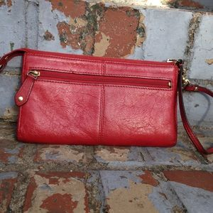 Coach Bags - Red Coach Wristlet Wallet